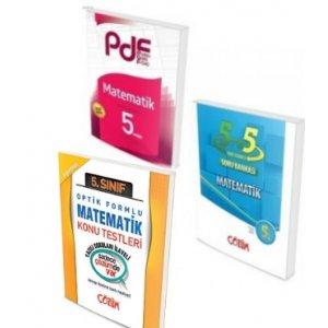 Çözüm Yayınları 5. Sınıf Matematik PDF Konu ve Soru Seti Yaprak Test Hediyeli