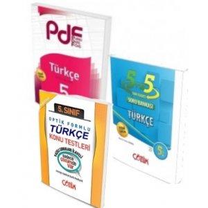 Çözüm Yayınları 5. Sınıf Türkçe PDF Konu ve Soru Seti Yaprak Test Hediyeli