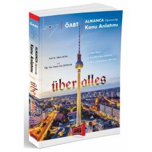 2017 ÖABT Über Alles Almanca Öğretmenliği Konu Anlatımlı Kitap Yargı Yayınları