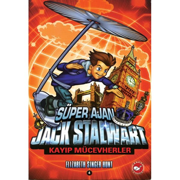 Süper Ajan Jack Stalwart -4 Kayıp Mücevherler