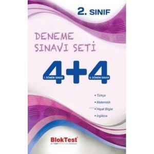 Bloktest 2. Sınıf 4+4 Deneme Sınavı Seti