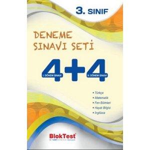 Bloktest 3.Sınıf 4+4 Deneme Sınavı Seti