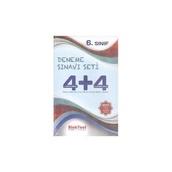 Bloktest 6. Sınıf 4+4 Deneme Sınavı Seti