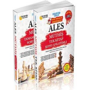 Akıllı Adam ALES Müthiş Konu Anlatımlı Tek Kitap Soru Banksı Hediyeli