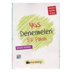 Kafa Dengi YGS Deneme Sınavları 5li Paket