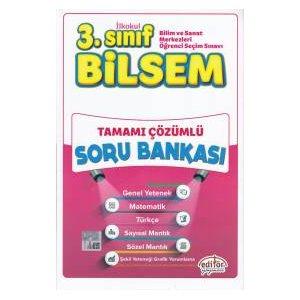 Editör 3. Sınıf Bilsem Tamamı Çözümlü Soru Bankası