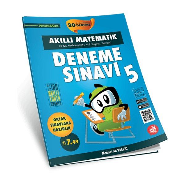 Arı Yayınları 5. Sınıf Matemito Akıllı Matematik 20 Deneme Sınavı