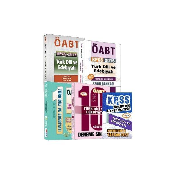 Yediiklim Yayınları ÖABT Türk Dili ve Edebiyatı Full Set Yaprak Test Hediyeli