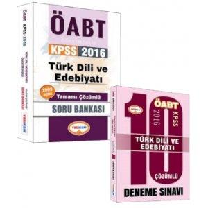 Yediiklim Yayınları ÖABT Türk Dili ve Edebiyatı Soru Bankası ve Deneme Fırsat İkilisi