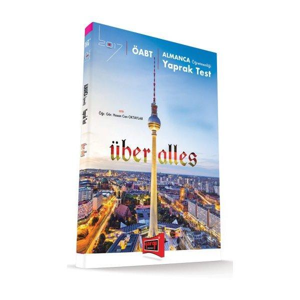 2017 ÖABT Über Alles Almanca Öğretmenliği Yaprak Test Yargı Yayınları