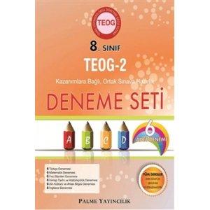 8. Sınıf TEOG 2 Nisan Kazanımlara Bağlı 6lı Deneme Seti Palme Yayınevi
