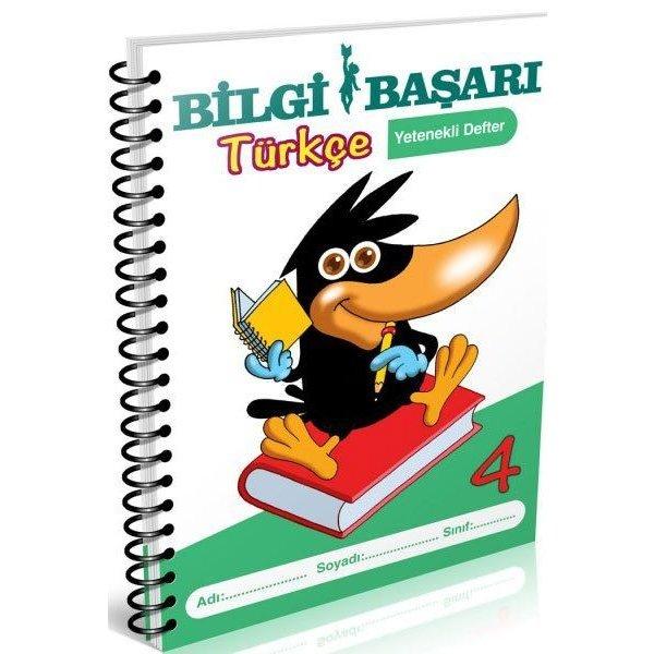 Bilgi Başarı Yayınları 4. Sınıf Türkçe Yetenekli Defter