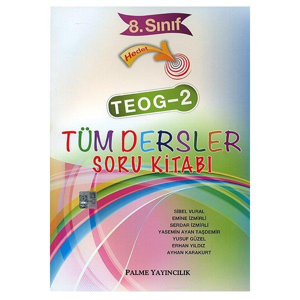 8. Sınıf Hedef TEOG 2 Tüm Dersler Soru Kitabı Palme Yayınevi