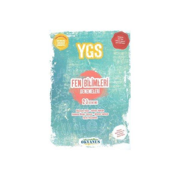 YGS Fen Bilimleri 20 Deneme Okyanus Yayınları