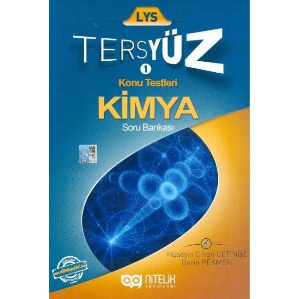 LYS Tersyüz Kimya Soru Bankası Nitelik Yayınları