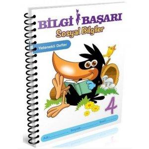 Bilgi Başarı Yayınları 4. Sınıf Hayat Bilgisi Fen Bilimleri Yetenekli Defter