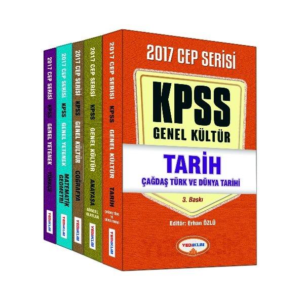 2017 KPSS Genel Yetenek Genel Kültür Konu Anlatımlı Cep Kitabı Seti Yediiklim Yayınları