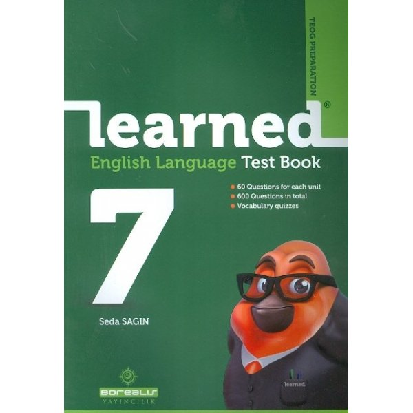 Borealis Yayıncılık 7. Sınıf Learned English Language Test Book
