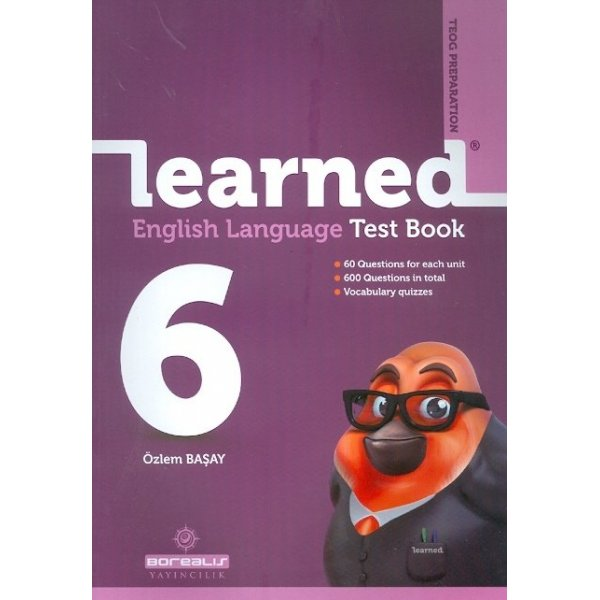 Borealis Yayıncılık 6. Sınıf Learned English Language Test Book