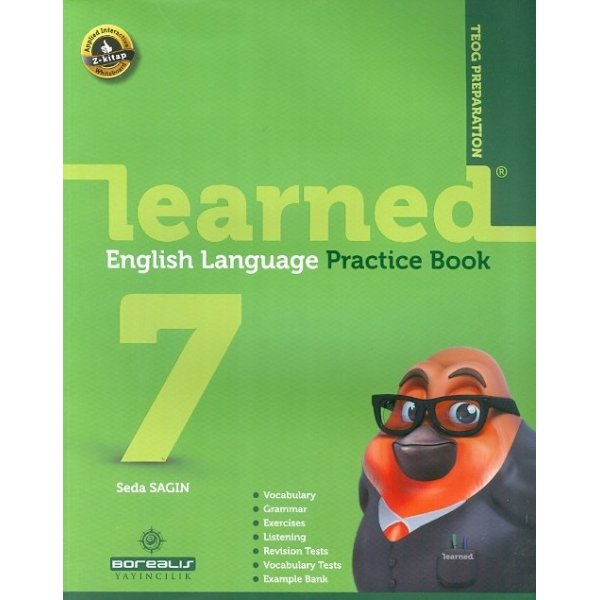 Borealis Yayıncılık 7.Sınıf Learned English Language Pratice Book