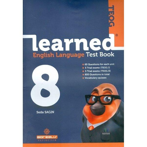 Borealis Yayıncılık 8.Sınıf TEOG Learned English Language Test Book