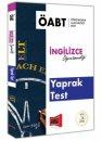 2019  ÖABT ELT İngilizce Öğretmenliği Yaprak Test Yargı Yayınları
