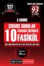 2017 KPSS A Grubu 2007-2016 Tamamı Çözümlü 10 Fasikül Çıkmış Sorular Pegem Yayınları