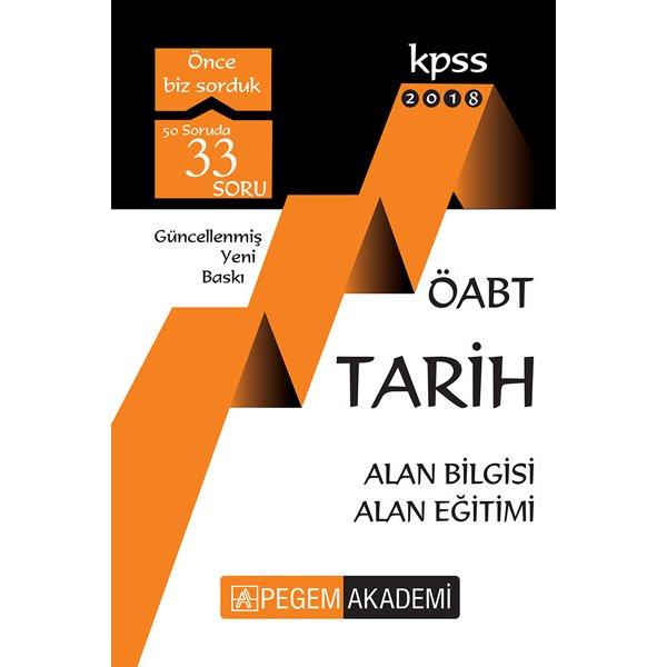 2018 ÖABT Tarih Öğretmenliği Konu Anlatımlı Pegem Yayınları