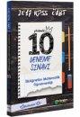 2017 ÖABT İlköğretim Matematik Öğretmenliği Çözümlü 10 Deneme Sınavı Öabt Okulu Yayınları