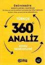 Fides Yayınları YGS Türkçe 360 Analiz Konu Denemeleri