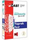 Yargı Yayınları 2019 ÖABT Rasyonel İlköğretim Matematik Öğretmenliği Yaprak Test