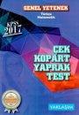 Yaklaşım Kariyer Yayınları 2017 KPSS Genel Yetenek Türkçe Matematik Çek Kopart Yaprak Test