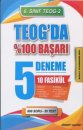 """Element Yayınları 8. Sınıf Teog  2-Teog""""da %100 Başarı 5 Deneme 10 Fasikül"""