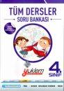 Yüklem Yayınları 4. Sınıf Tüm Dersler Soru Bankası