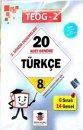 Zeka Küpü Yayınları 8. Sınıf 2. Dönem TEOG 20 li Türkçe Denemeleri