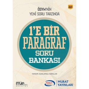 Murat Yayınları 2017 KPSS ALES DGS YGS LYS Bire Bir Paragraf Soru Bankası