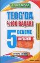 """Element Yayınları 8. Sınıf TEOG 2 TEOG""""da %100 Başarı 5 Deneme 10 Fasikül"""