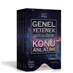 2017 KPSS Genel Yetenek Genel Kültür Konu Anlatımlı Modüler Set Kuzey Akademi Yayınları