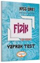 Yediiklim Yayınları 2017 ÖABT Fizik Öğretmenliği Çek Kopart Yaprak Test