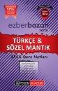Pegem Yayınları 2017 KPSS Ezberbozan Türkçe Sözel Mantık Ders Notları