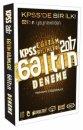 Benim Hocam Yayınları 2017 KPSS Eğitim Bilimleri Tamamı Çözümlü 6 Altın Deneme Sınavı