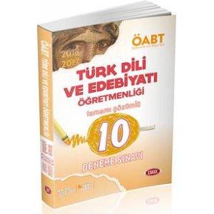 2017 ÖABT Türk Dili ve Edebiyatı Öğretmenliği Tamamı Çözümlü 10 Deneme Sınavı Data Yayınları