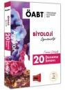 2019 ÖABT Antikor Biyoloji Öğretmenliği Tamamı Çözümlü 20 Deneme Sınavı Deneme Sınavı Yargı Yayınları