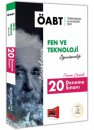 2018 ÖABT Eınsteın Fen ve Teknoloji Öğretmenliği Tamamı Çözümlü 20 Deneme Sınavı Yargı Yayınları