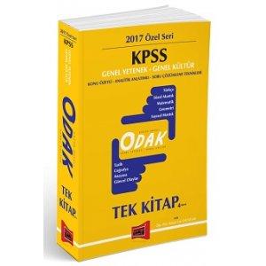 Yargı Yayınları 2017 KPSS Odak Genel Yetenek Genel Kültür Konu Anlatımlı Özet Tek Kitap