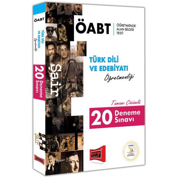 2018 ÖABT Şair Türk Dili ve Edebiyatı Öğretmenliği Tamamı Çözümlü 20 Deneme Sınavı Yargı Yayınları
