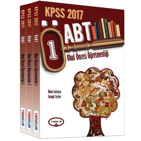 2017 ÖABT Okul Öncesi Öğretmenliği Konu Anlatımlı Set Yediiklim Yayınları