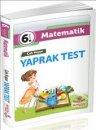 İnovasyon Yayınları 6.Sınıf  Matematik Çek Kopar Yaprak Test