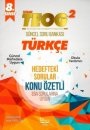 Barış Kitap 8. Sınıf TEOG 2 Türkçe Konu Özetli Soru Bankası