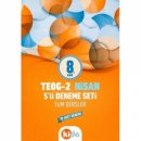 Kida 8. Sınıf TEOG 2 5 li Tüm Dersler Deneme Seti